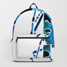 Beetle 09 blue Backpack