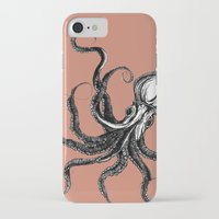 squid iPhone & iPod Cases featuring Squid  by Aubree Eisenwinter