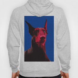 Majestic Doberman. Pop art dog. Hoody