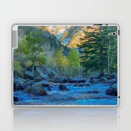 River Bed Sunrise // Long Exposure Landscape Photograph in the Colorado Rocky Mountains Laptop & iPad Skin