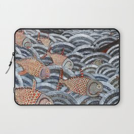 Golden Fishes Laptop Sleeve