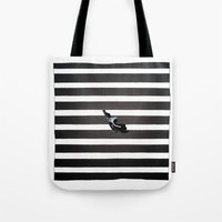 skate Tote Bags featuring Skate by KATA