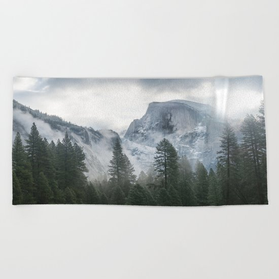 Majestic Mountain Beach Towel
