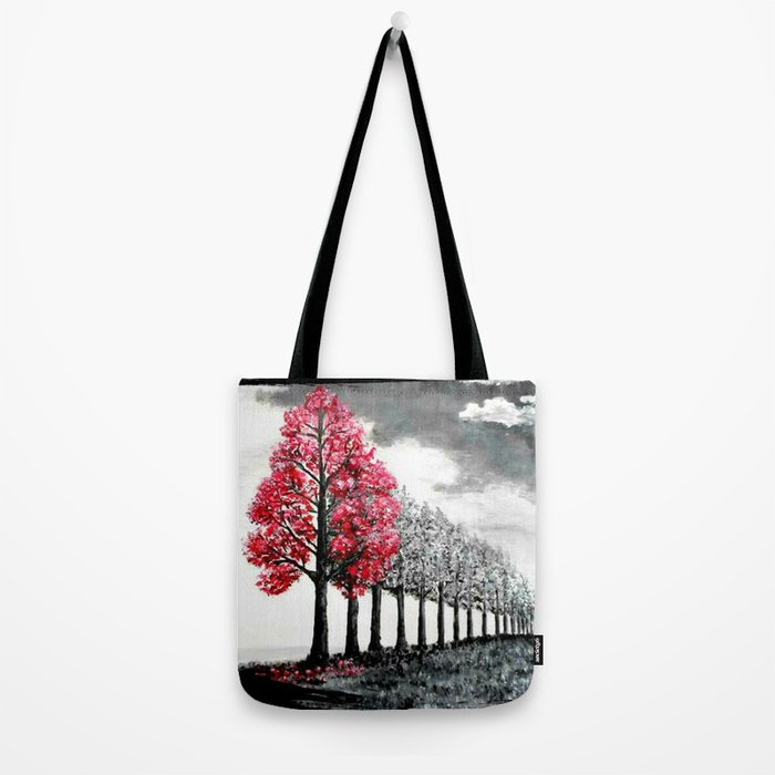 The rain is coming Tote Bag