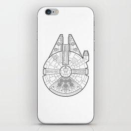 Millenium Falcon. iPhone Skin