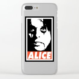 ALICE Clear iPhone Case