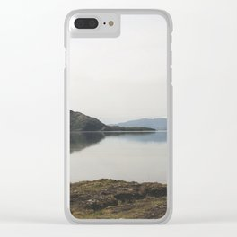 Fly Fishing Iceland Clear iPhone Case