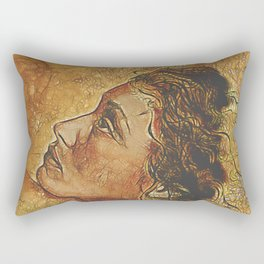 Yearning~ Woman Rectangular Pillow