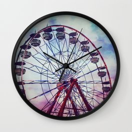 To Touch the Sky Wall Clock