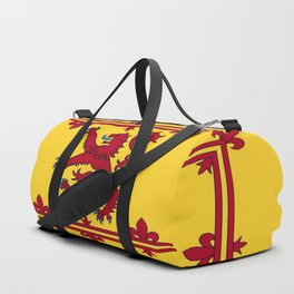 RED LION & YELLOW ROYAL BANNER OF SCOTLAND Duffle Bag