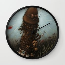 Easter Miracle Wall Clock
