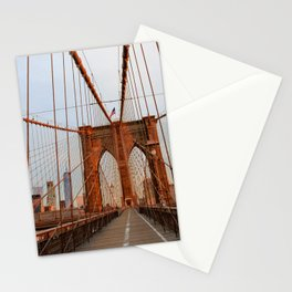 Brooklyn Bridge Sunrise Stationery Cards