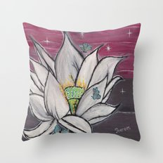 Midnight Story Throw Pillow