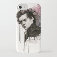 harry styles iPhone & iPod Cases featuring Harry Styles by bellavigg