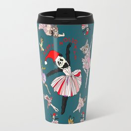 Hipster Holiday Ballerinas Travel Mug