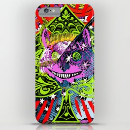 Cheshire Starry Sky iPhone Case