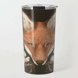 The Fox and Dogwoods Travel Mug