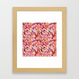 Yo girlfriend – U R my BFF!! Framed Art Print