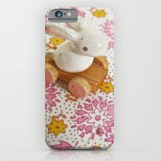 Bunny on Pink Slim Case iPhone 6s