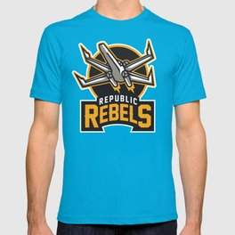 Republic Rebels - Black T-shirt