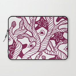 Seaweed, coral and starfish ornament Laptop Sleeve