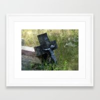 jesus Framed Art Prints featuring Jesus by LoRo  Art & Pictures