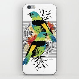 Green-headed Tanager iPhone Skin