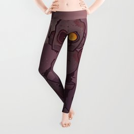 Rusty Zombie Robot Leggings