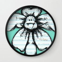 """Chubby"" Flowerkid Wall Clock"