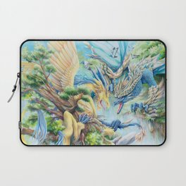 Till Flames Go Out Laptop Sleeve