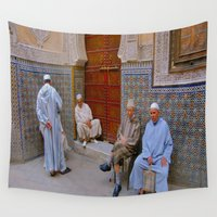 morocco Wall Tapestries featuring Morocco #3 by lularound