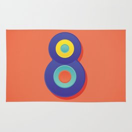 Alphabet Drop Caps Series- 8 Rug