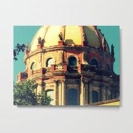 church dome in San Miguel de Allende Metal Print