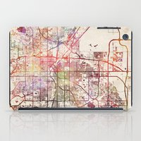 denver iPad Cases featuring Denver by MapMapMaps.Watercolors