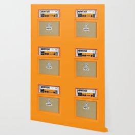Bright Orange color amplifier amp Wallpaper