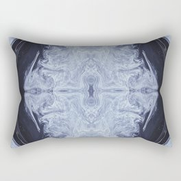Firmament in Blue Rectangular Pillow