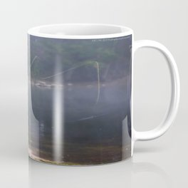 Misted Fly Fishing Coffee Mug