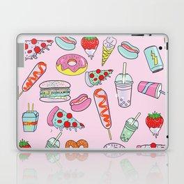 Pastel Junk Food Laptop & iPad Skin