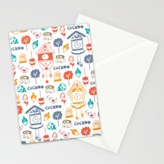 Cuckoo Pattern Stationery Cards