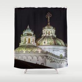 Iglesia de La Compañía (Church of the Society of Jesus) Shower Curtain