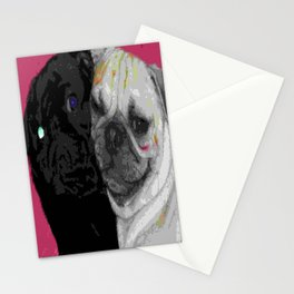 Love Puggs Stationery Cards