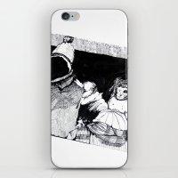 velvet underground iPhone & iPod Skins featuring Underground by T.K. Dolan
