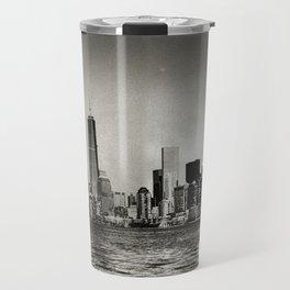 Lower Manhattan, New York City Travel Mug