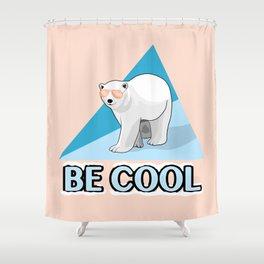 Be Cool Polar Bear Shower Curtain