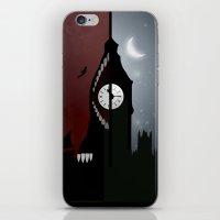 peter pan iPhone & iPod Skins featuring Peter Pan by Rowan Stocks-Moore