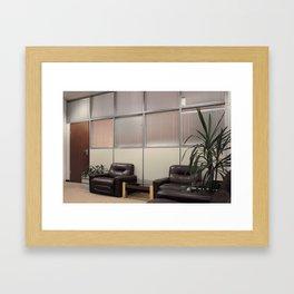 Quiet calm Framed Art Print