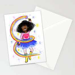 Magical Black Girl Stationery Cards