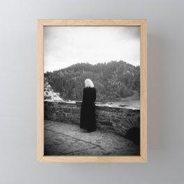 Ghost of the Castle - Film Photograph taken in Poland Framed Mini Art Print