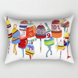 17 Buoys Rectangular Pillow
