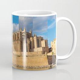 Cathedral of Palma de Mallorca Golden hour Timeslice Coffee Mug